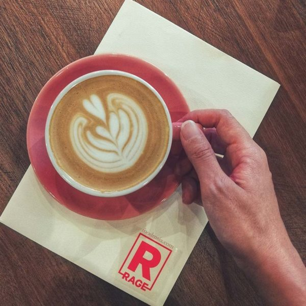 drink rage never settle menara uoa bangsar coffee