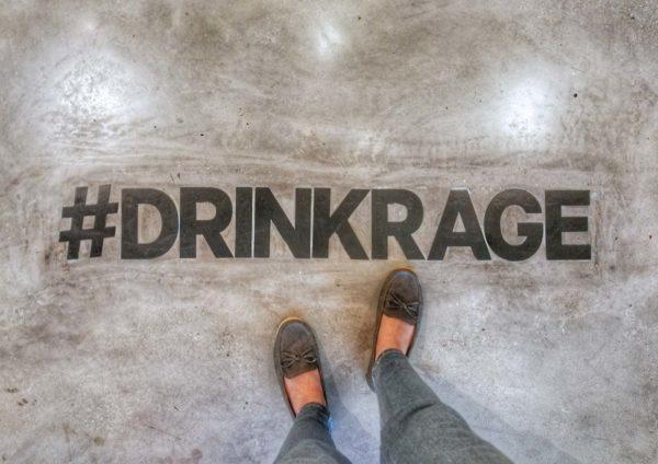 drink rage never settle menara uoa bangsar hashtag