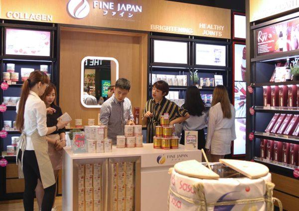 fine japan sunway velocity mall kuala lumpur first store customer