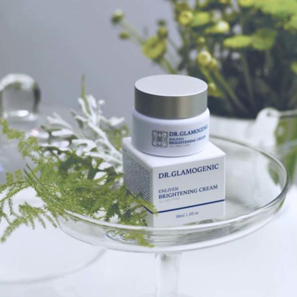 glamogenic australian skincare 1 plus 1 be simplify beauty enliven brightening cream