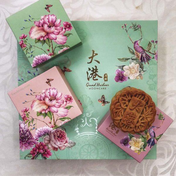 grand harbour mid autumn festival classic handmade mooncake gift box