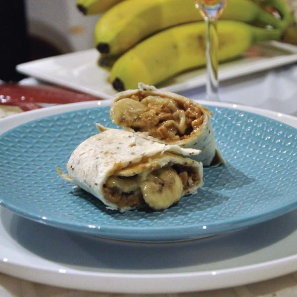 mission foods healthy wraps breakfast of champions banana