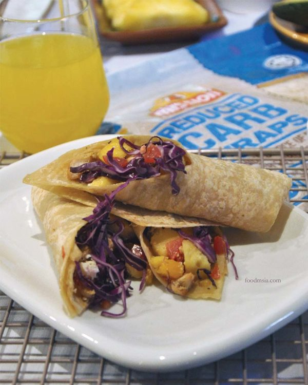 mission foods healthy wraps breakfast of champions food