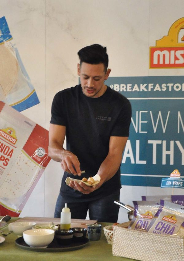 mission foods healthy wraps breakfast of champions peter davis