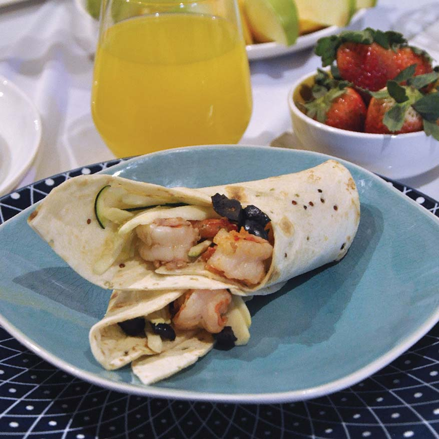 Breakfast Of Champions With Mission Foods Healthy Wraps