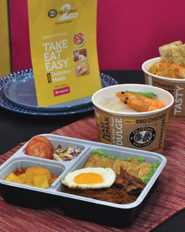 oldtown 2go delivery meals foodpanda local cuisine