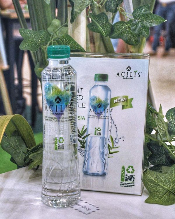 spritzer 30 years of natural goodness acilis silica rich mineral water