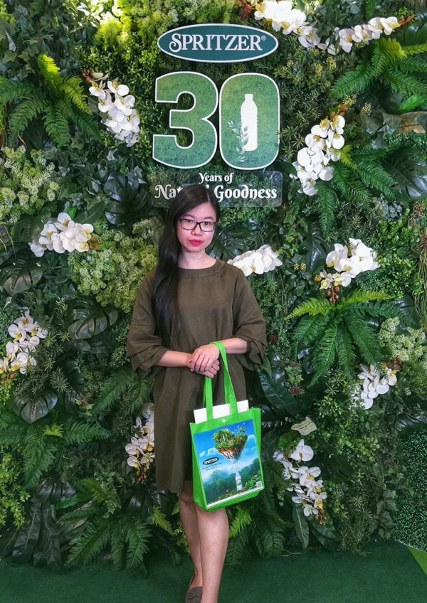 spritzer 30 years of natural goodness ivy kam