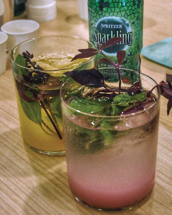 spritzer 30 years of natural goodness tea mixology