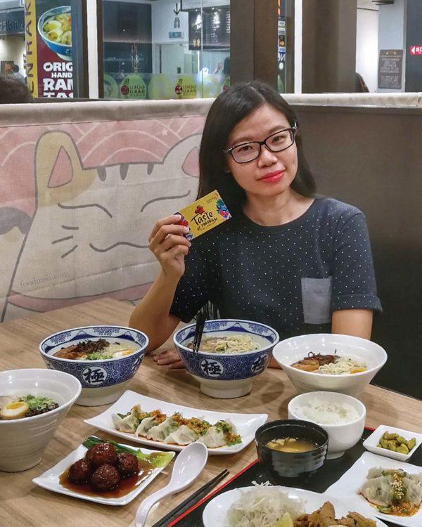 taste of paradigm mall petaling jaya ivy kam
