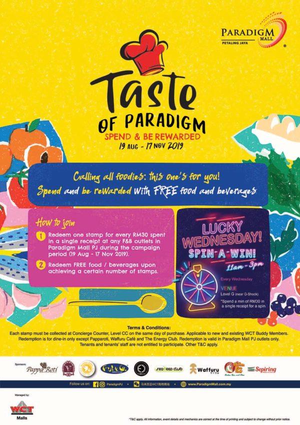 taste of paradigm mall petaling jaya mechanism