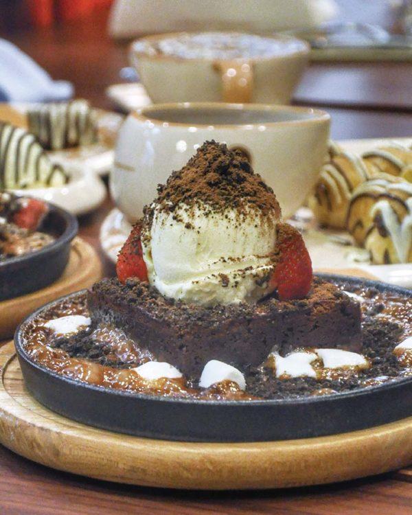 taste of paradigm mall petaling jaya molten chocolate cafe