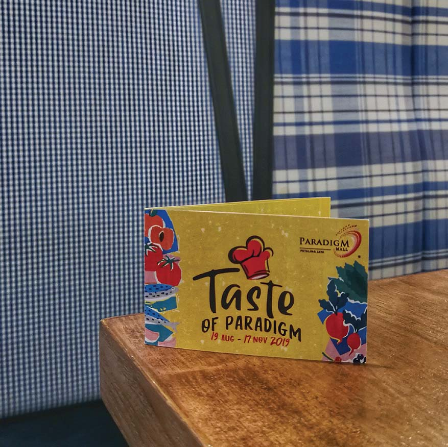 The Taste of Paradigm – Spend & Be Rewarded @ Paradigm Mall PJ (2)