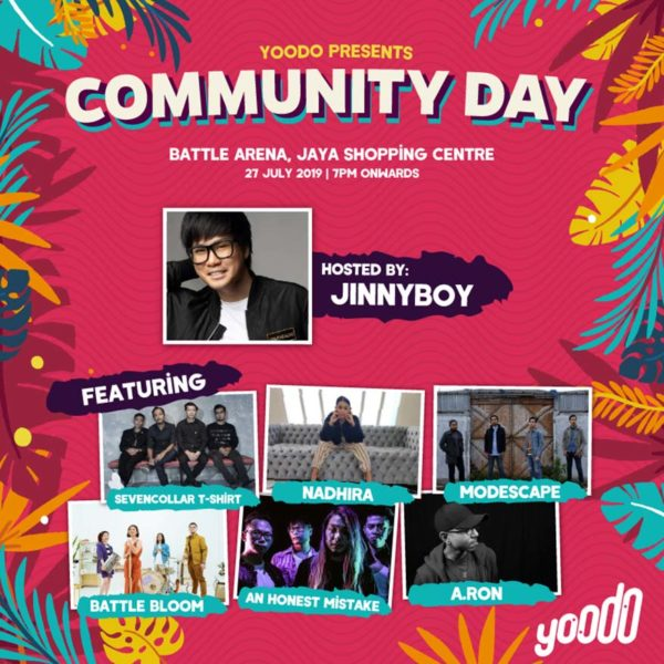 yoodo presents community day local indie band concert