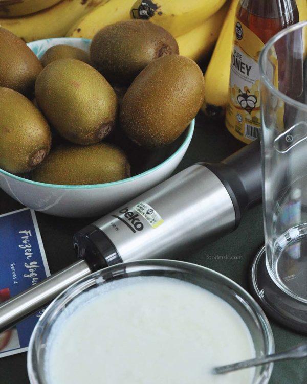 beko healthy eating cooking workshop frozen yogurt bites