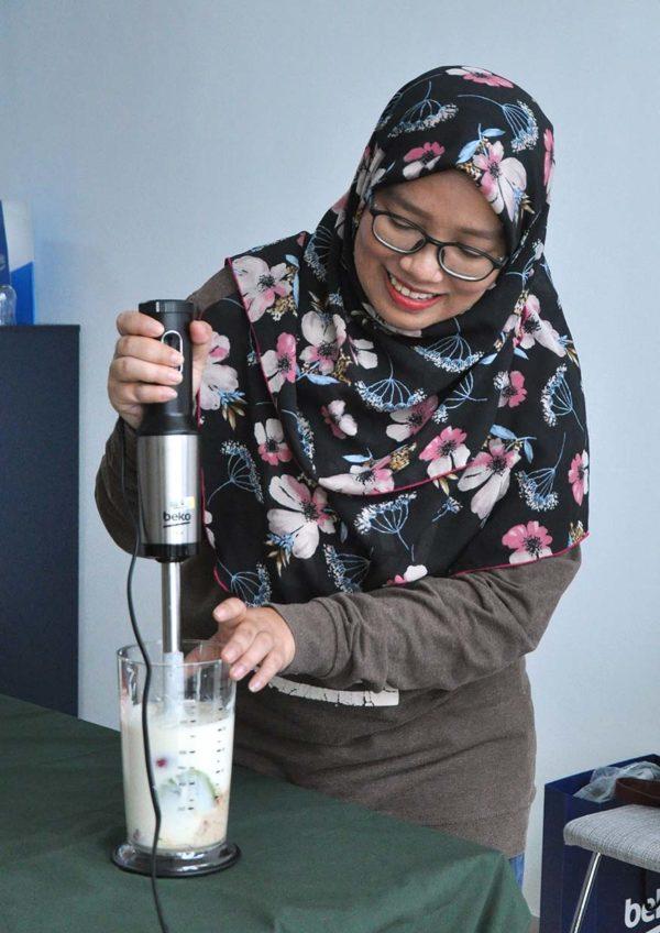 beko healthy eating cooking workshop hand blender