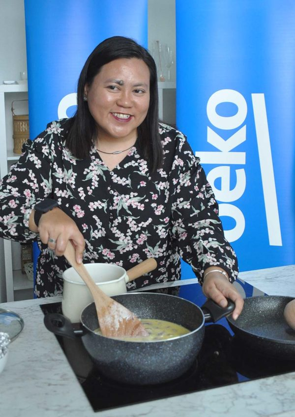 beko healthy eating cooking workshop induction cooker