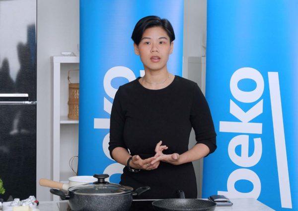 beko healthy eating cooking workshop michelle phang