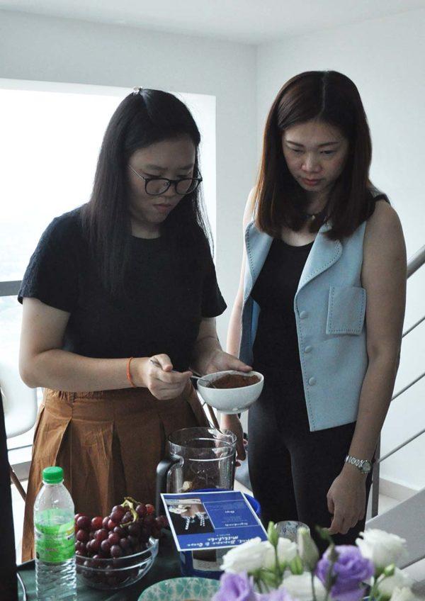 beko healthy eating cooking workshop vacuum blender smoothie