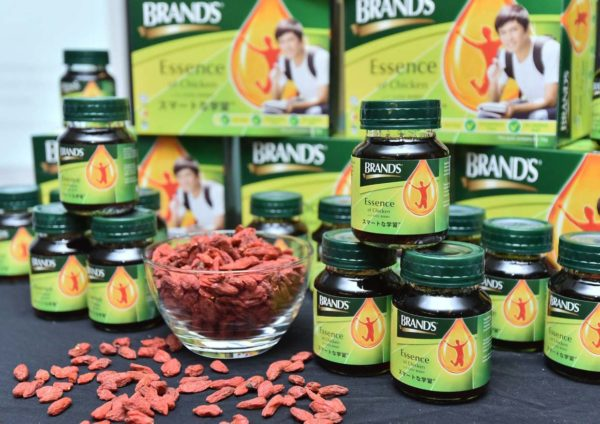 brands essence of chicken with goji berry natural food supplement