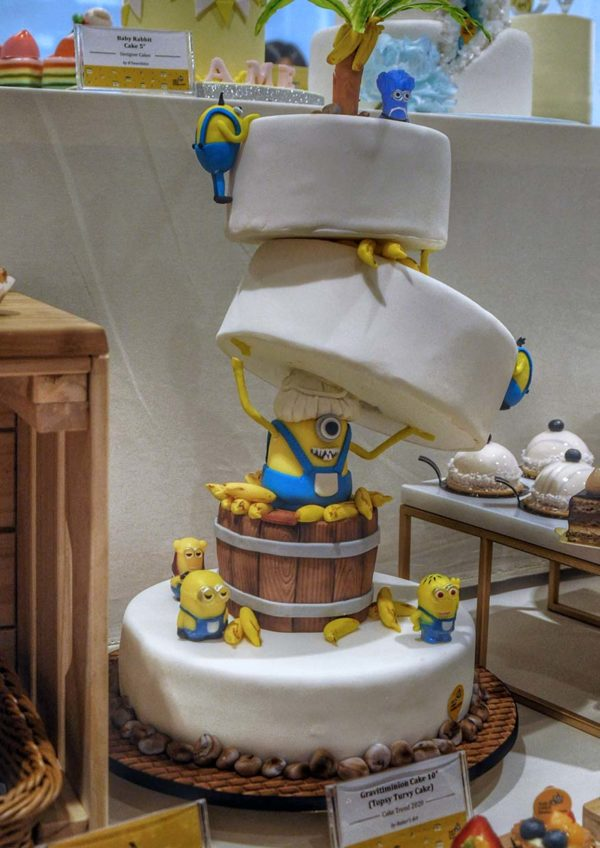 eat cake today the cake show gravitiminion cake