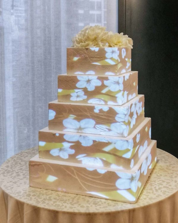 eat cake today the cake show projection mapping