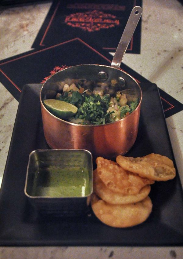 frangipaani the republik damansara heights indian restaurant aloo moong sprouts chaat