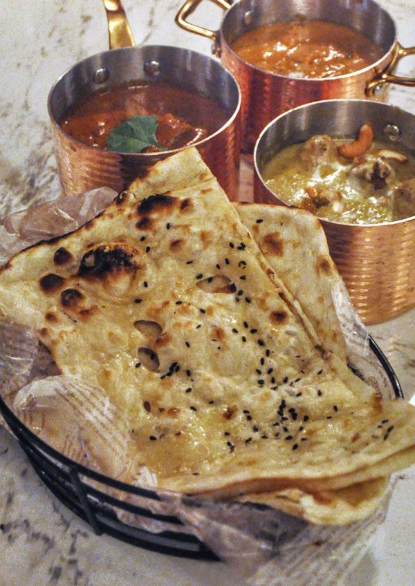 frangipaani the republik damansara heights indian restaurant butter naan