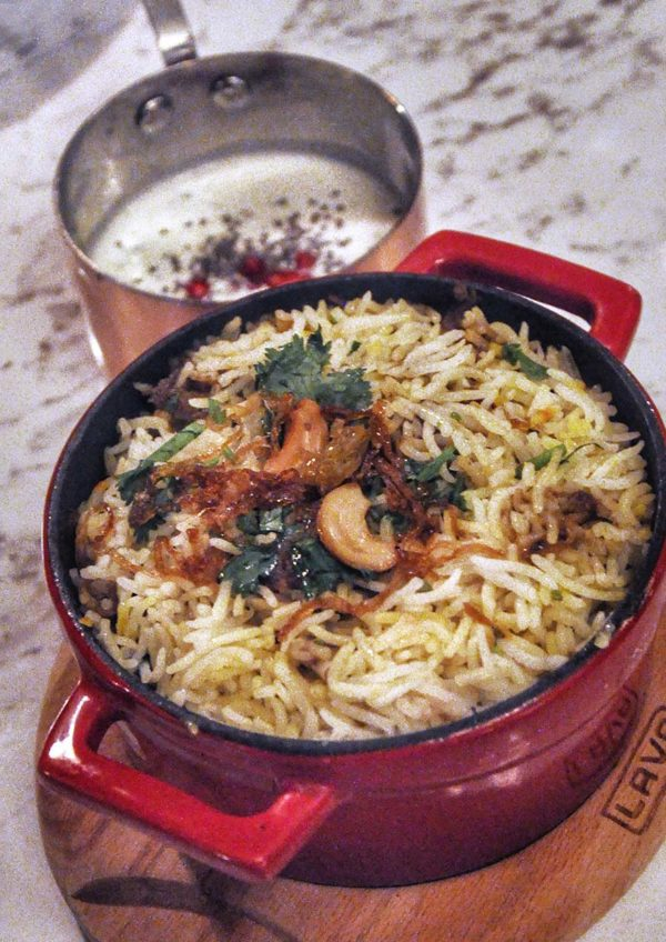 frangipaani the republik damansara heights indian restaurant mutton dum briyani
