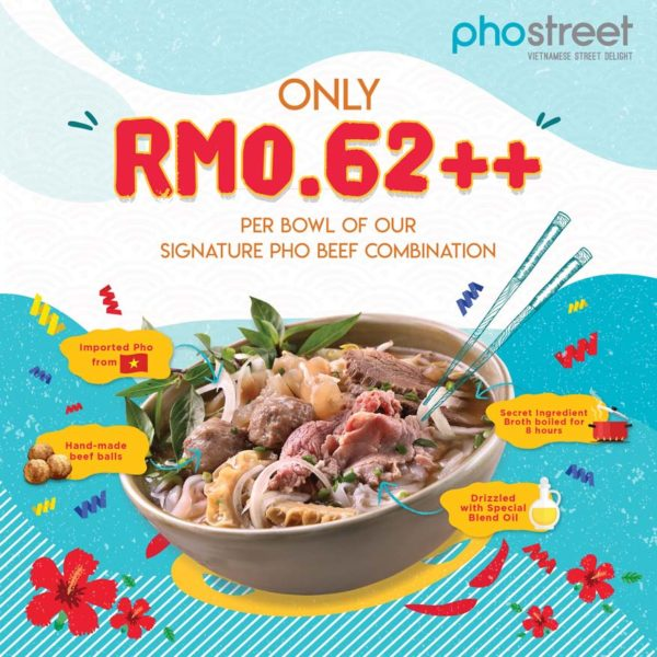 pho street vietnamese cuisine we are pho everyone merdeka campaign 62 cents