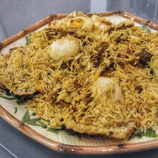 spice garden indian middle eastern restaurant khazana mutton biryani