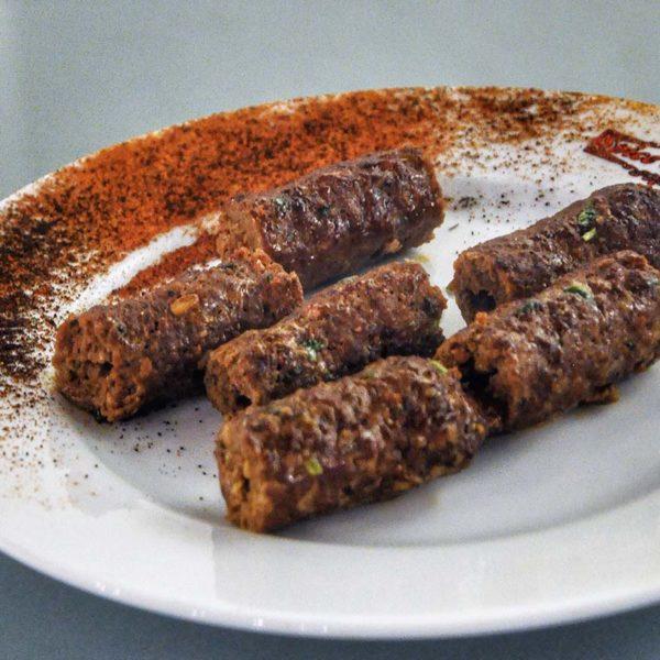 spice garden indian middle eastern restaurant venison kebab