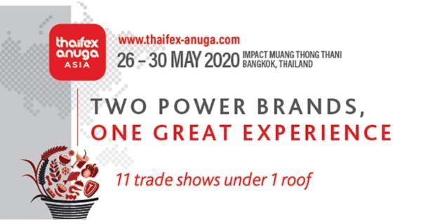 thaifex anuga asia 2020 bangkok thailand