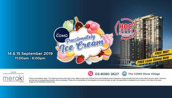 the como condominium bukit jalil passionately ice cream