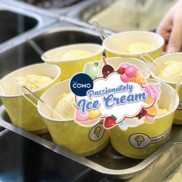 the como condominium bukit jalil passionately ice cream inside scoop