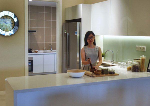 the como condominium bukit jalil passionately ice cream kitchen ivy kam