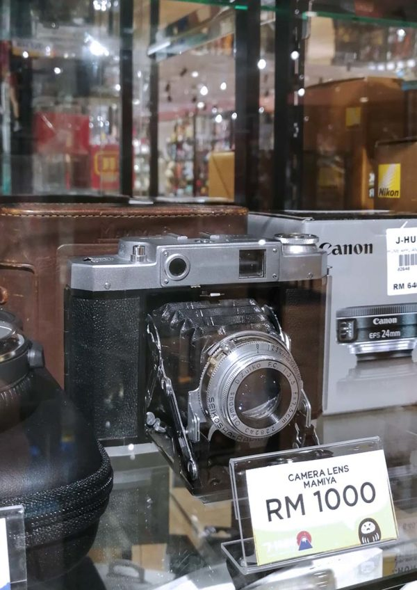 j-hunt mottainai store subang jaya camera gadget