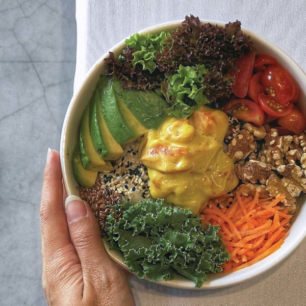 kubis and kale bandar sunway poke bowl