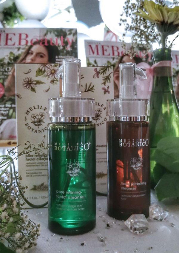 melilea botanico plus ministree mebeauty afternoon tea facial cleanser