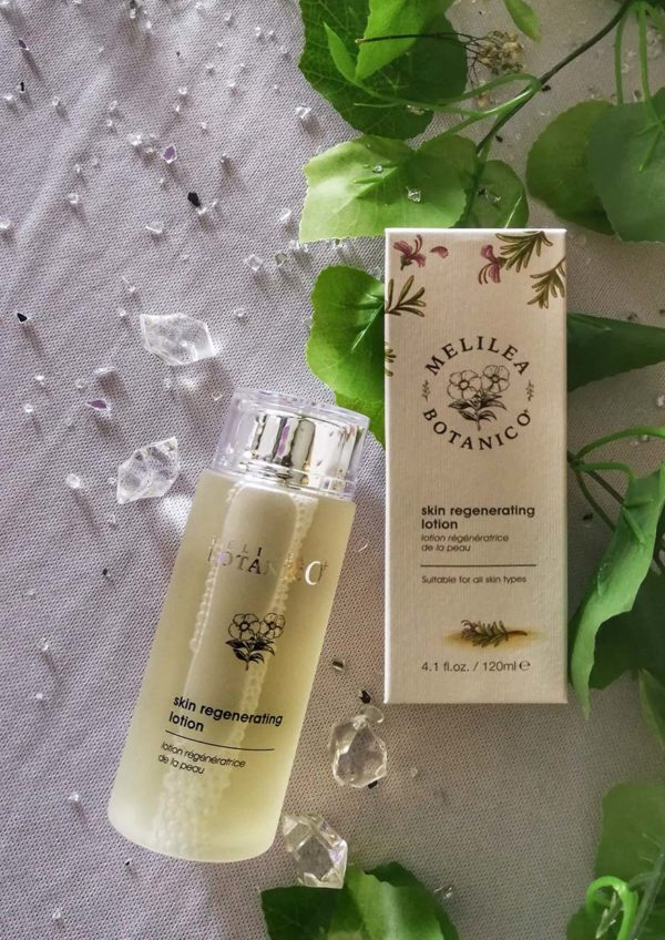 melilea botanico plus ministree mebeauty afternoon tea skin regenerating lotion