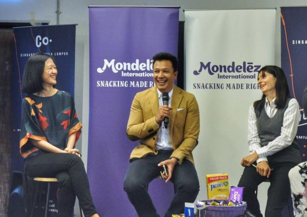 mindful snacking smrter snacker session-mondelez malaysia discussion panel