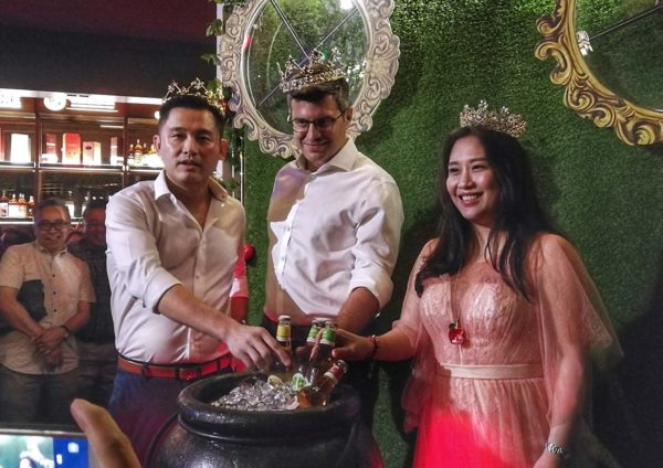 poison apple pinnacle annexe bandar sunway launching event