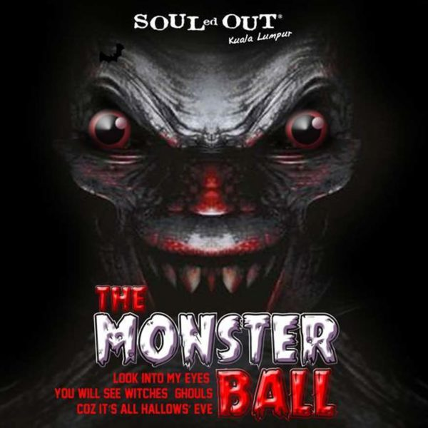 souled out desa sri hartamas the monster ball halloween party