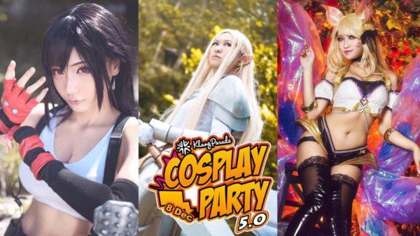 cosplay party 5 klang parade