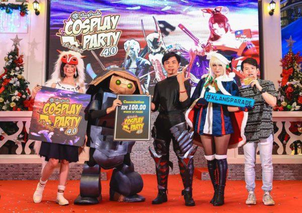 cosplay party 5 klang parade attractive prizes
