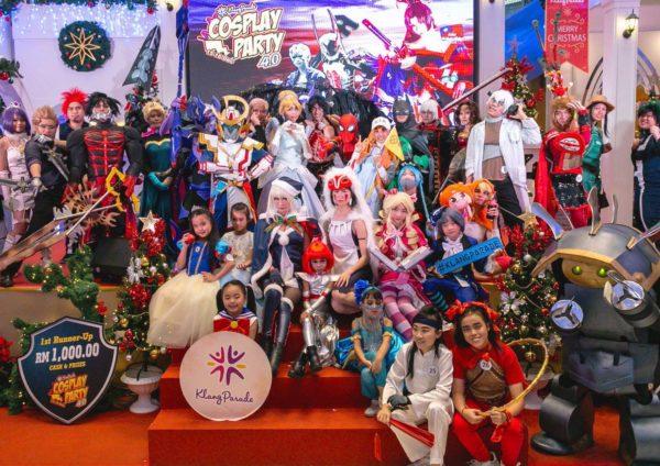 cosplay party 5 klang parade group shot