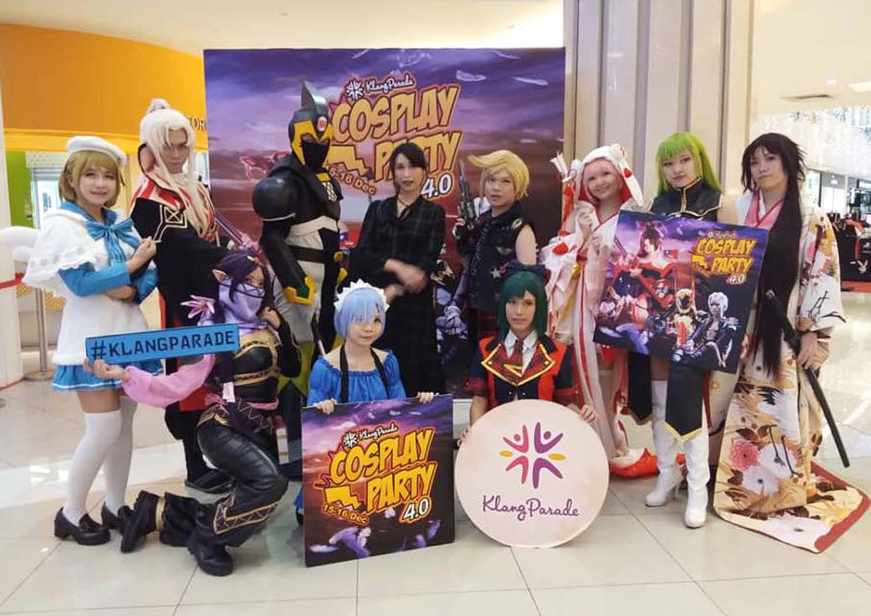 Popular Costume Ideas For Cosplay Party 5.0 @ Klang Parade