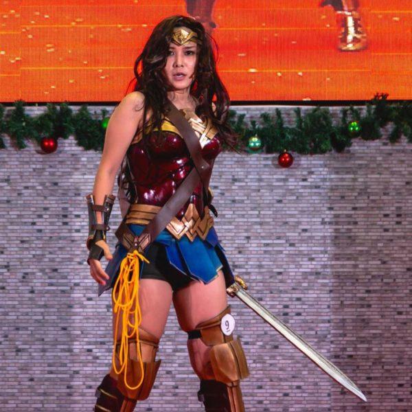cosplay party 5 klang parade wonder woman