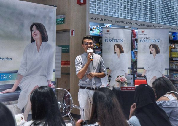 datuk stella chin the art of position book launch emcee