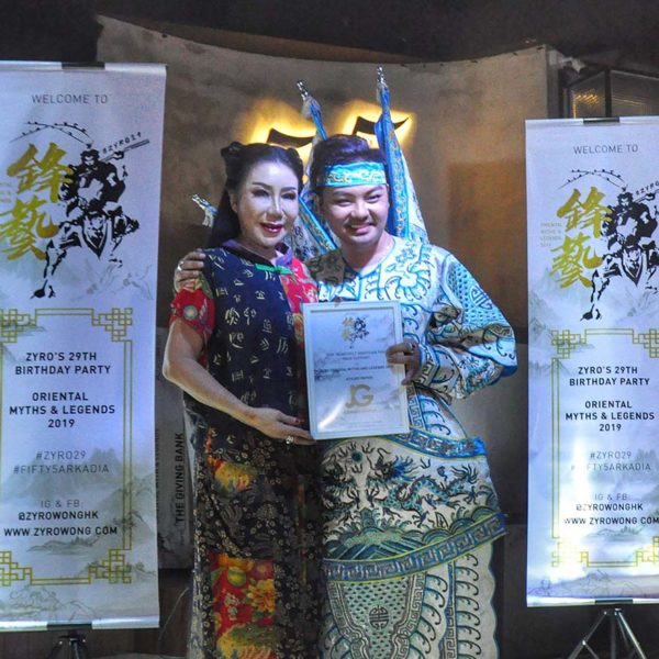 dr zyro wong charity birthday celebration datin maylene